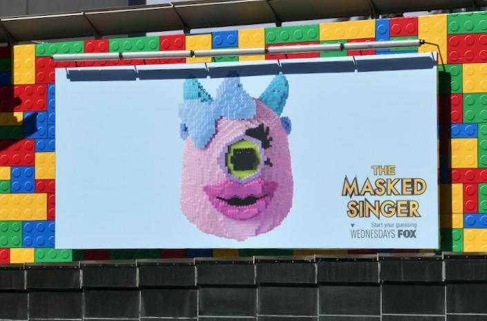 Masked Singer lego season 3 billboard