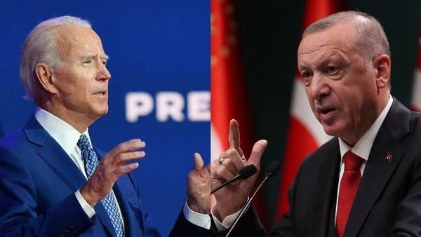 Erdogan addresses Biden a request through the media after refusing to respond to his calls