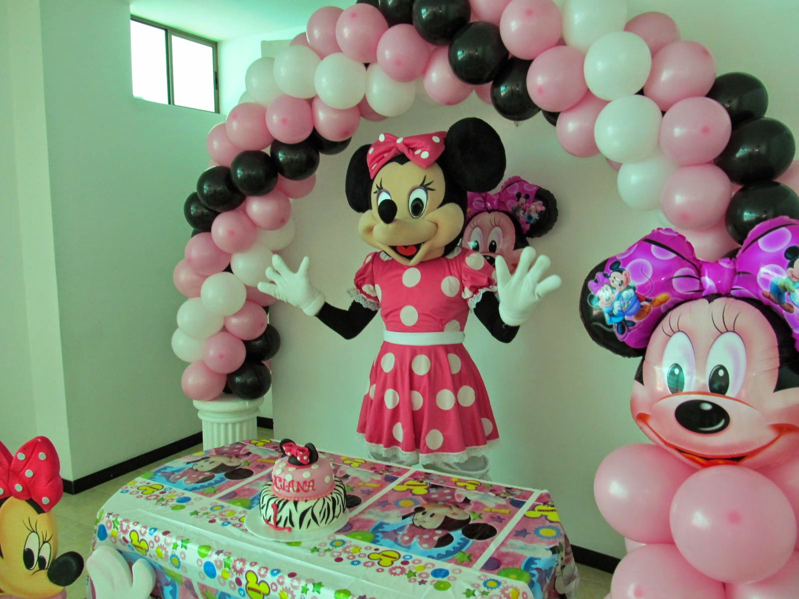 DECORACI N FIESTA MINNIE MOUSE FIESTAS INFANTILES Y