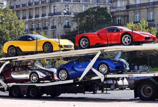 EU revela que funcionario mexicano tiene autos Ferrari, Lamborghini, Bentley, Bugatti y Rolls Royce.