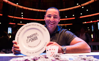 Hakim Zoufri Wins the 2016 Master Classics of Poker in Amsterdam (€275,608)