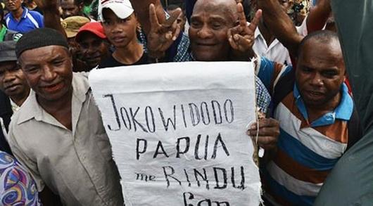 Kepala Suku Jayapura Hadiahkan Tanah untuk Jokowi Bangun Istana Negara