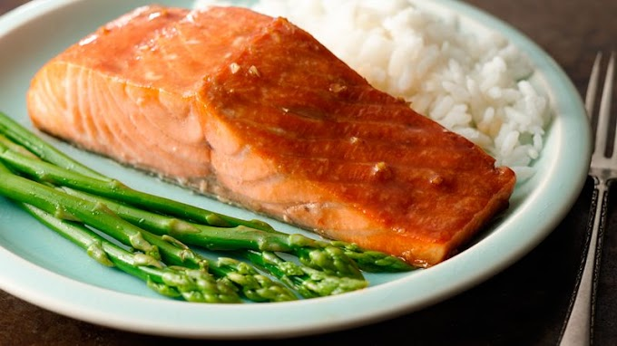 Beautiful and Amazing Recipe for Honey Soy Grilled Salmon