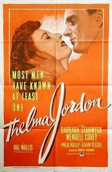 Public domain film noir: The File on Thelma Jordon (1950