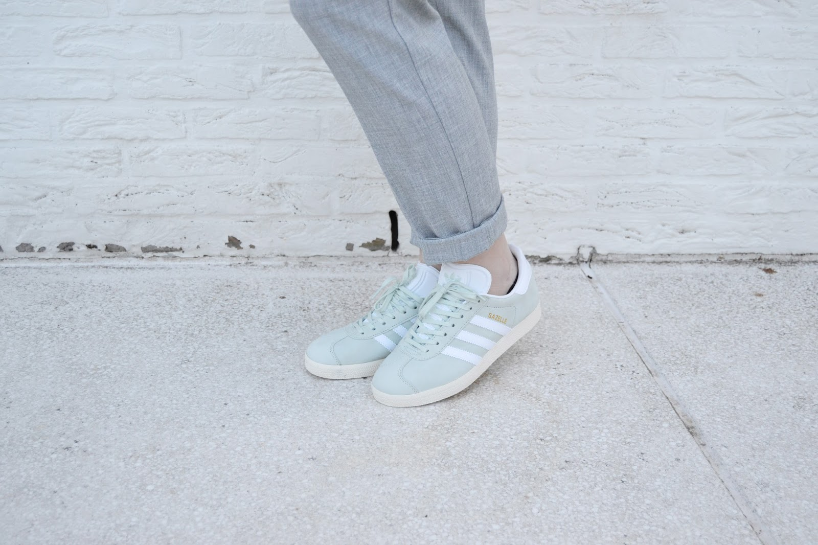 zosiarome mint green adidas gazelles. Black Bedroom Furniture Sets. Home Design Ideas