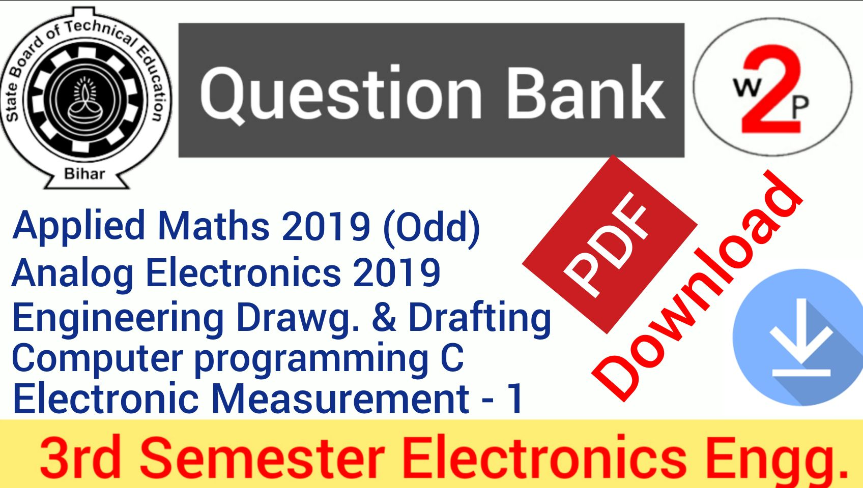 Electronic Question Papers
