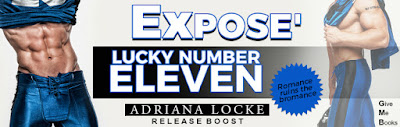 Lucky Number Eleven by Adriana Locke Release Boost