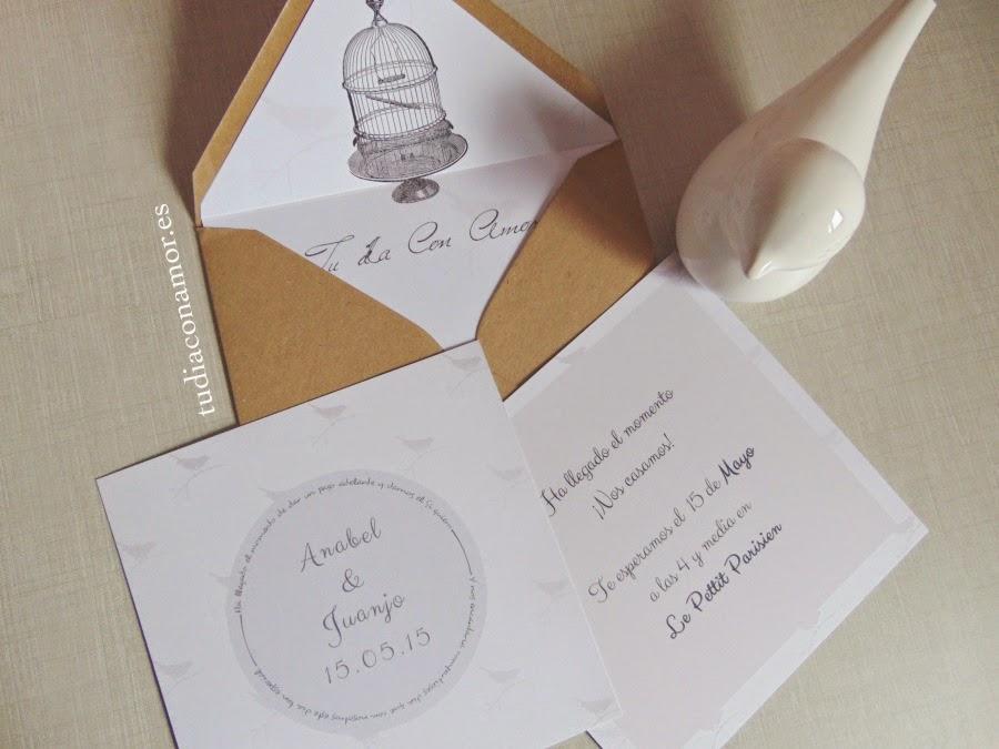 Blog de tu d a con amor invitaciones y detalles de boda - Bodas sencillas pero bonitas ...