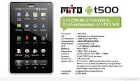 Daftar Harga Tablet Mito Terbaru Bulan Juni 2013