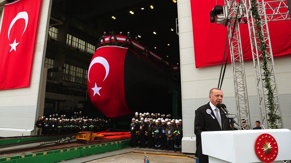 Όχι της Γερμανίας σε «πάγωμα» της πώλησης γερμανικών υποβρυχίων στην Τουρκία