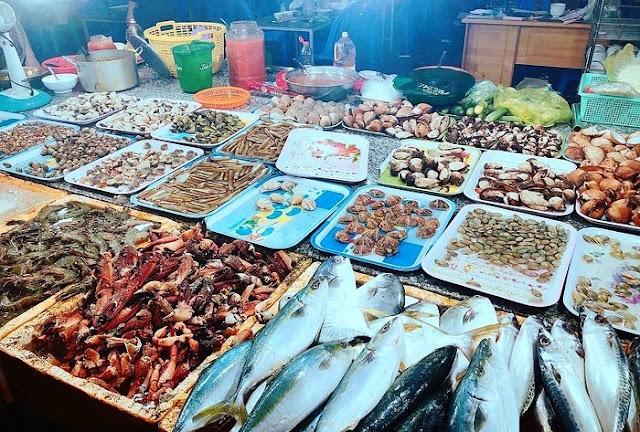 Bà Rịa – Vũng Tàu: Tuyệt đỉnh chợ đêm Long Hải…