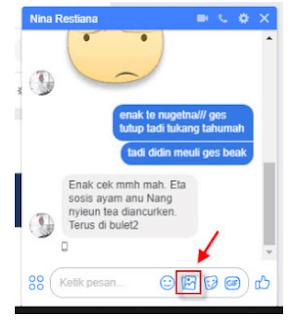 Cara Mengirim file dokumen via Facebook Messenger di android, apakah bisa ?