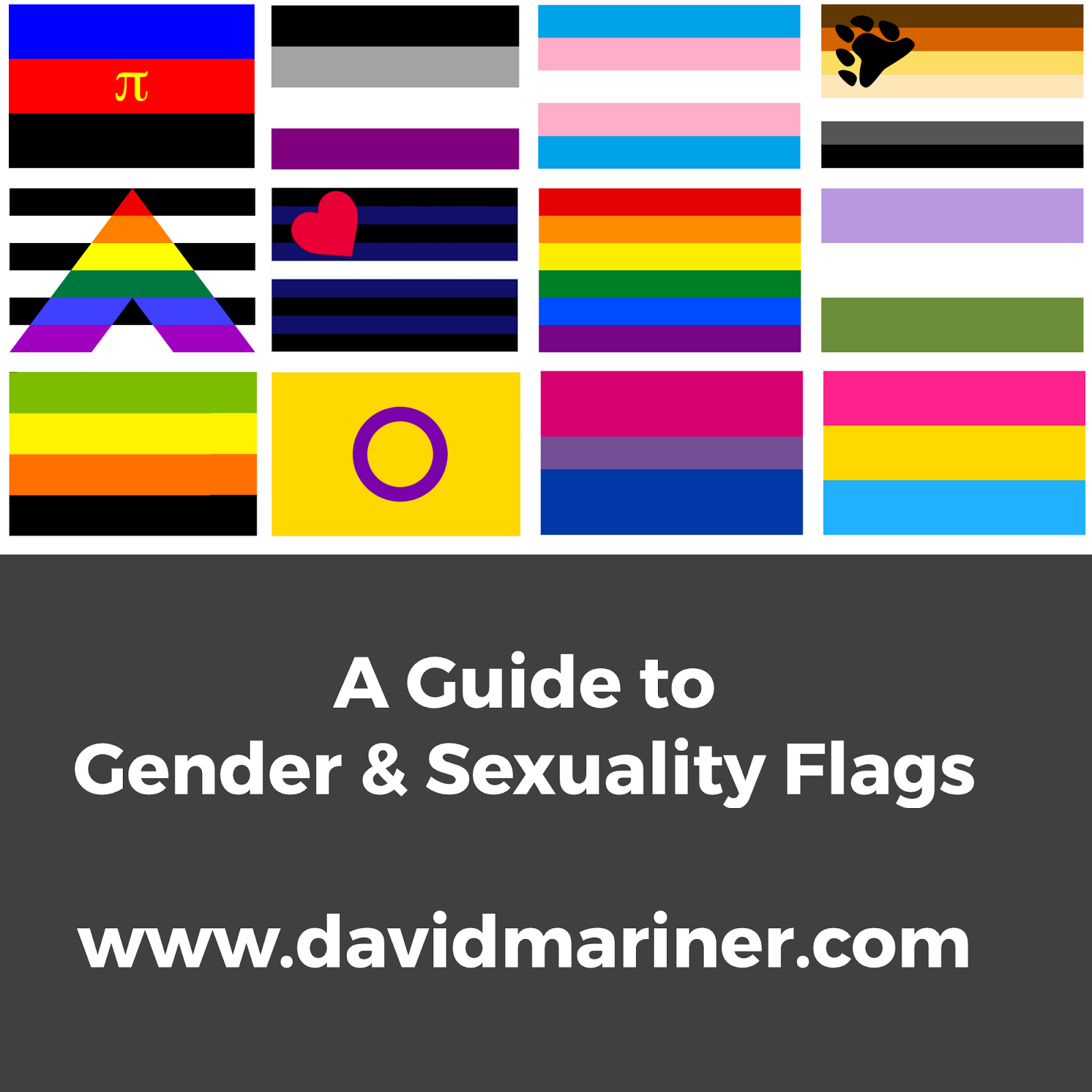 gender sexuality flags the dc center
