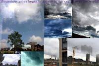 Mysterious Cities Began To Appear In The Sky All Over The World - na całym świecie na Niebie zaczęły pojawiać się tajemnicze miasta