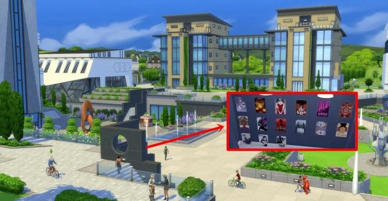 How to collect all City Posters in The Sims 4: City Dwellers