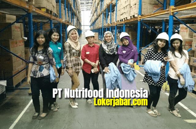 Lowongan Kerja PT Nutrifood Indonesia Maret 2021