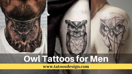20+ Meaningful Owl Tattoos for Men [2020] - Tatoosdesign.com