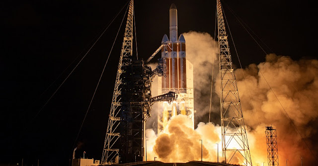 parker solar probe starts historic journey to touch the sun