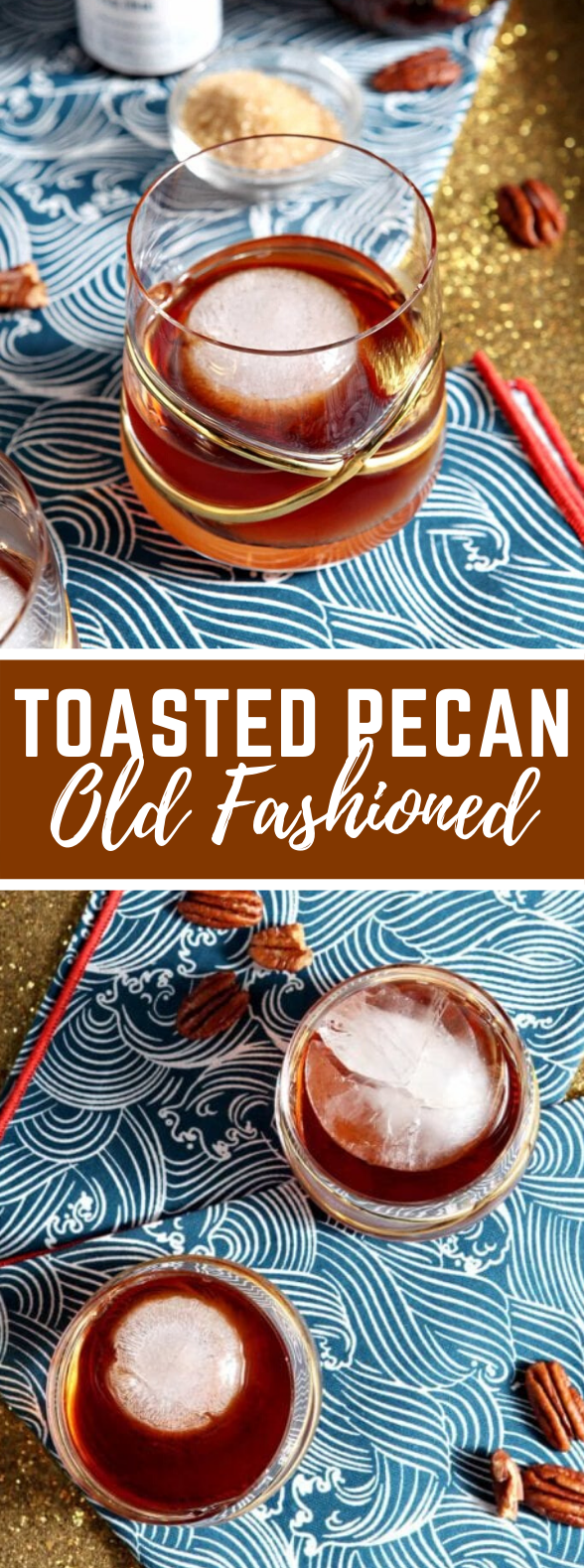 Toasted Pecan Old Fashioned #drinks #cocktails