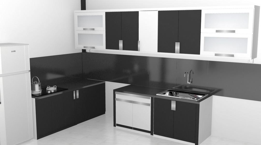 Kitchen Set Warna Hitam Kitchen Kitchen Ideas 2019
