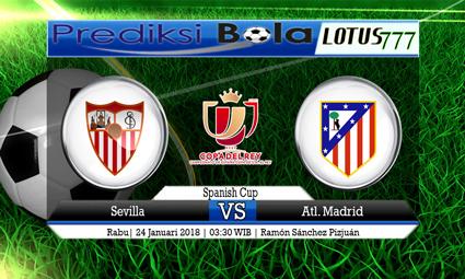 PREDIKSI SKOR Sevilla vs Atl. Madrid 24 Januari 2018