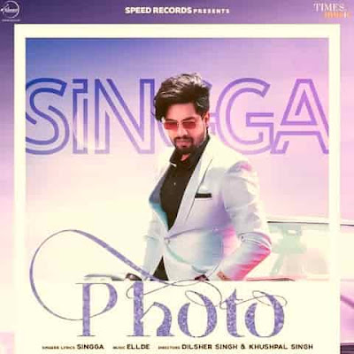 PHOTO (OFFICIAL B&W) SONG LYRICS BY SINGGA