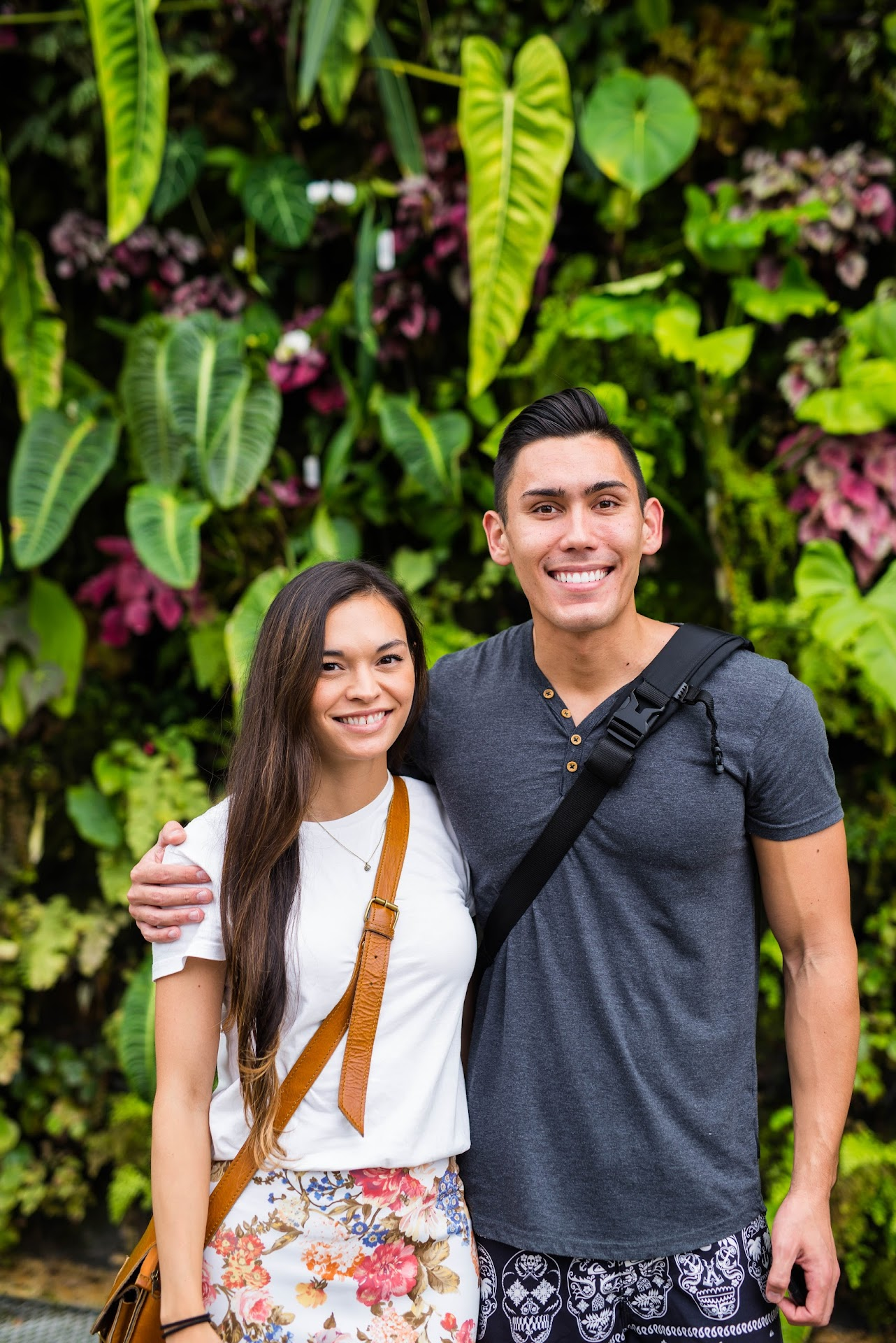 couple travel bloggers, asian, japanese, singapore travel, things to do in singapore, southeast asia, travel blogger, korean, asian, gardens by the bay review, cloud forest or flower dome, man-made waterfalls, best waterfalls in the world, hobbit house, best gardens in the world, greenhouse, lds mormon travel blog, san francisco bay area blogger, california travel blogger