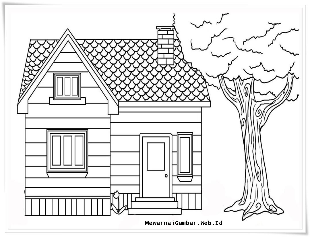 Kumpulan 48 Desain Rumah Sederhana Hitam Putih Terbaik Dan