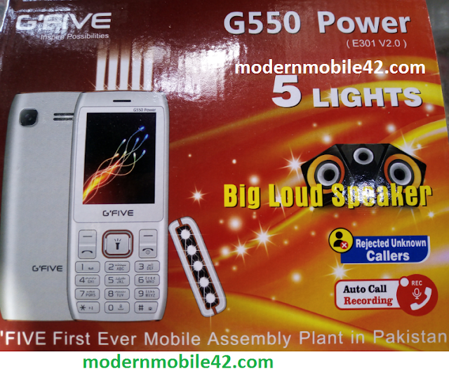 gfive g550 power e301-v2.0 flash file