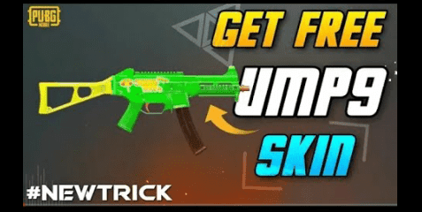 How to Get UMP9 Hot skin for free in pubg Mobile