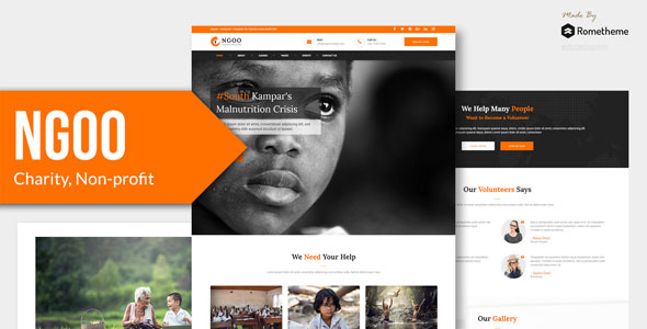 Best Charity, Non-profit, and Fundraising Figma Template