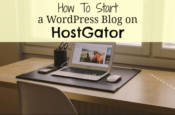 how to create a wordpress website on hostgator