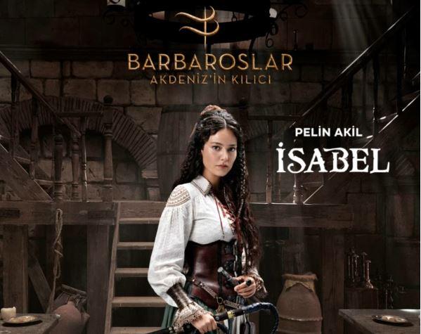 Barbaroslar Akdeniz'in Kılıcı İsabel Kimdir?