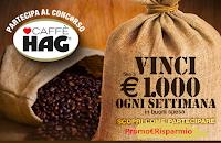 Logo Concorso Hag 2020 : vinci carnet di buoni spesa fino a 1000 euro