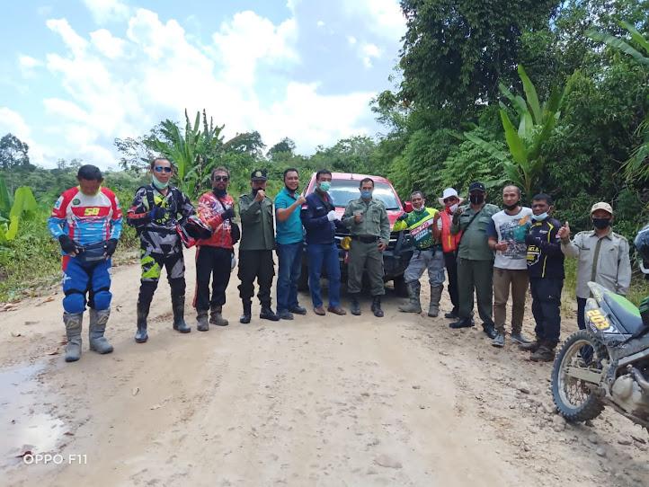 Ketua Tim KPHP Barito Tengah Unit VI & VII Pimpin Giat Patroli Karhutla