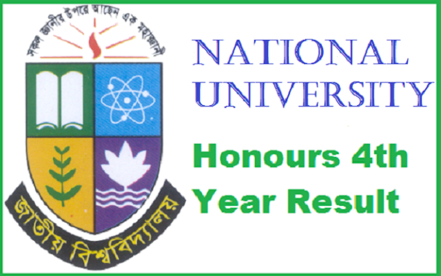 NU Honors 4th year exam result
