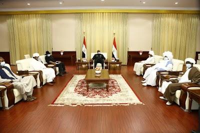 البرهان يطع على أهداف مبادرة تسامح من أجل الوطن