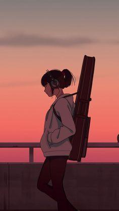hình nền điện thoại cô gái buồn