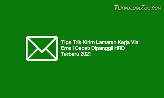 cara mengirim lamaran lewat email di hp