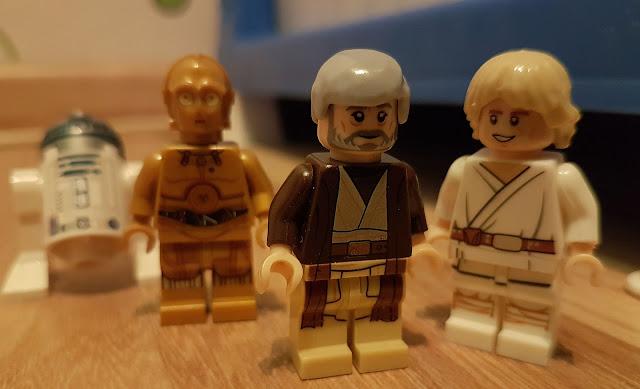 Оби Ван, Люк Скайуокер, R2-D2 и C-3PO