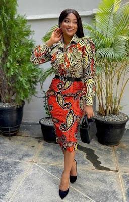 Latest Mix and Match Ankara Dresses