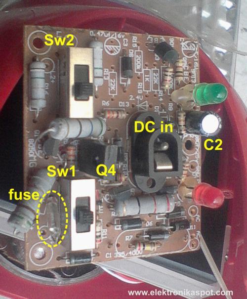 Memperbaiki Lampu Emergency Elektronika Spot