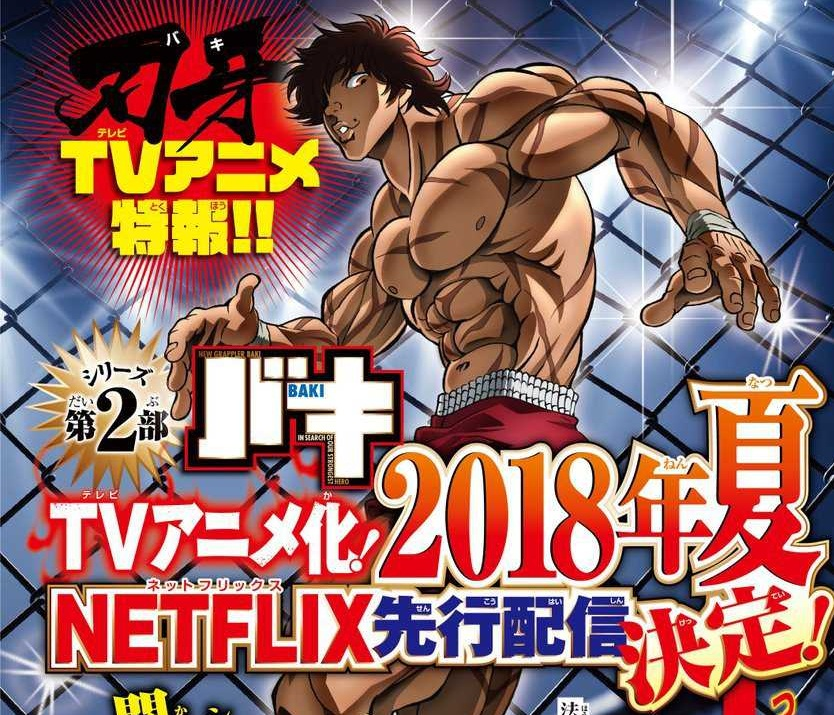 Nonton Anime Sub Indo Batch: Baki (2018) Batch Episode 1-26 END Subtitle Indonesia X265