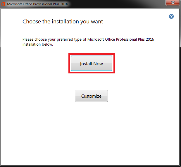 Cài Microsoft Office 2016