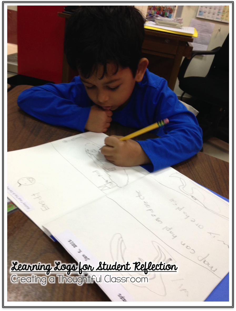 Learning Logs for Student Reflection, Creating a Thoughtful Classroom