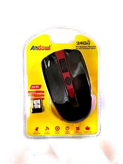 mouse wireless senza fili andowl an-211