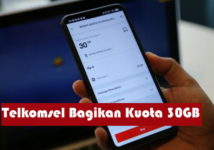 Telkomsel Bagikan Kuota