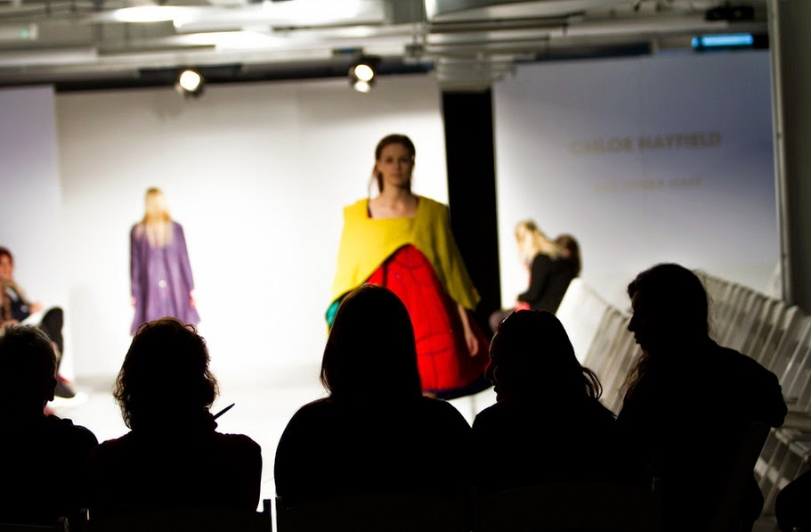 My Models Wearing My Fashion Graduate Final Collection on during Fashion Show.