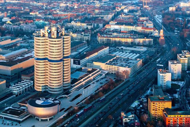 Do Aeroporto de Munique até ao centro da cidade