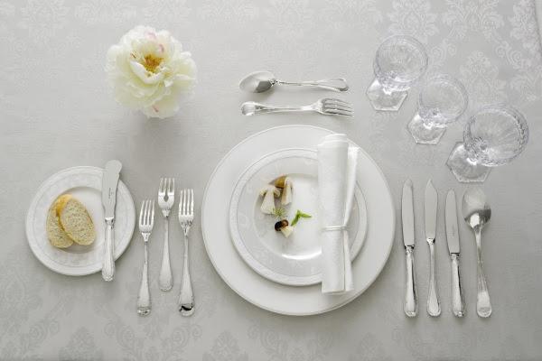 Formal Dining Table Set Up: Slave Journeys: Essential Slave Skills: Formal Dining